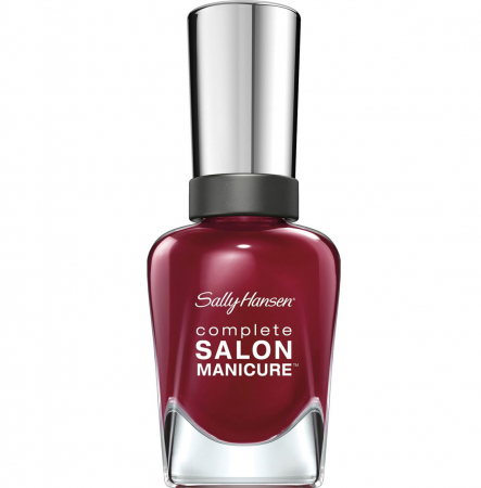Lac de unghii Sally Hansen Complete SALON Manicure 610 Red Zin, 14.7 ml