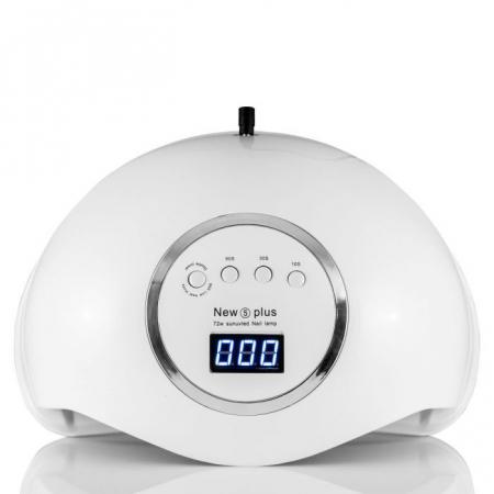 Lampa profesionala unghii UV LED Smart 2.0 NEW5plus, 72 W, Activare prin senzori,Uscare 10s-99s, pentru uscat oja semipermanenta sau gel UV9