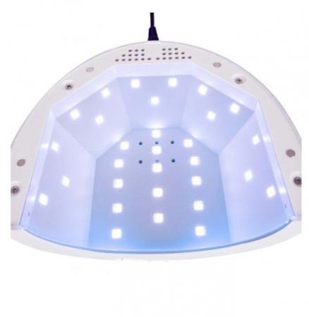 Lampa unghii UV LED SUNone 48 W, Hybrid, Double Light Led pentru uscat oja semipermanenta sau gel UV4