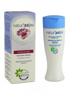 Lapte Demachiant Delicat Naturissima Cu Albastrele - 150 ml