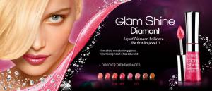 Gloss L'oreal Glam Shine Diamant - 167 Coral Carat1