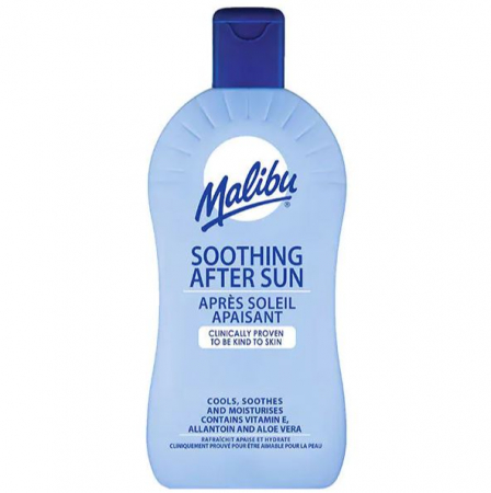 Lotiune After Sun cu Aloe Vera si Vitamina E, MALIBU Soothing After Sun, 400 ml