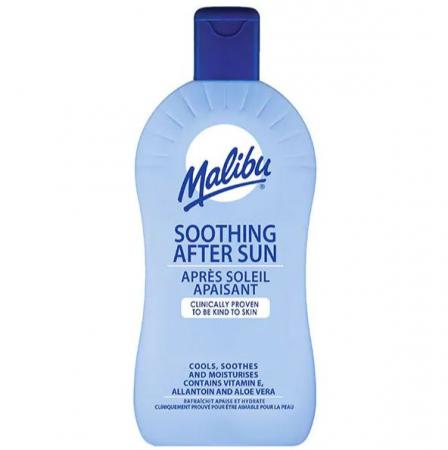Lotiune After Sun cu Aloe Vera si Vitamina E, MALIBU Soothing After Sun, 200 ml
