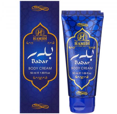 Crema arabeasca pentru corp HAMIDI Badar Body Cream, 50 ml0
