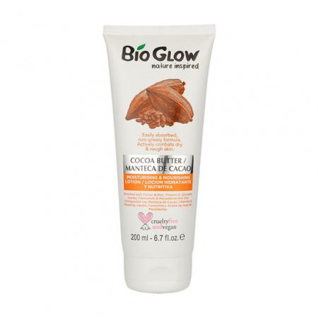 Lotiune hidratanta Bio Glow cu Unt de Cacao si Nuci Macadamia pentru piele uscata, 200 ml