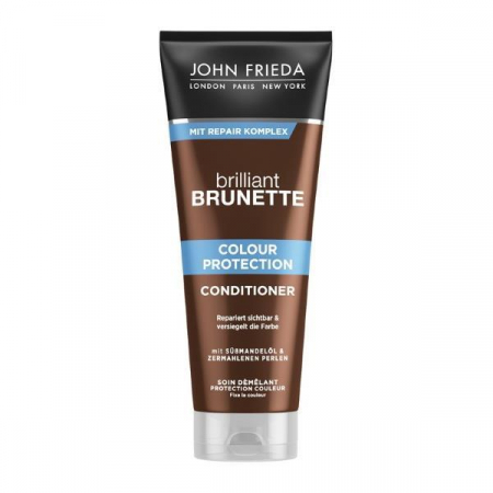 Balsam pentru parul brunet JOHN FRIEDA Brilliant Brunette Colour Protecting Conditioner, 50 ml