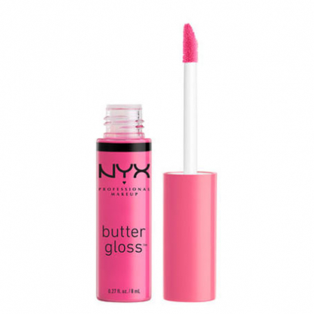 Luciu De Buze Nyx Professional Makeup Butter Gloss, 01 Strawberry Parfait, 8 ml