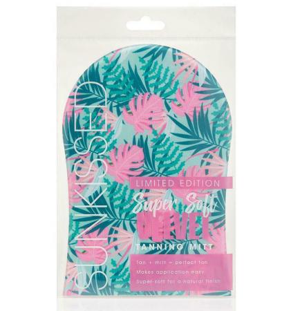 Manusa Profesionala SUNKISSED Super Soft Velvet pentru Aplicarea Autobronzantului, Hawaiian Blue