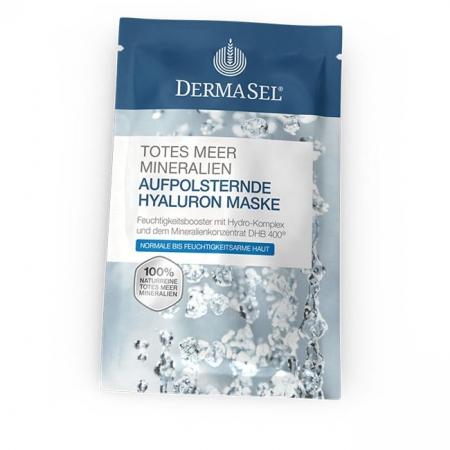 Masca de fata MED cu acid hialuronic, Dermasel cu 100% Minerale de la Marea Moarta, 12 ml