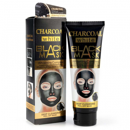 Masca de fata exfolianta cu Carbune Activ, CHARCOAL Black Mask, 130 ml0