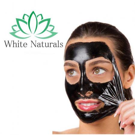 Masca neagra de fata anti-rid cu Argila Minerala, Vitamina A & E, Efect detoxifiant si de intinerire, WOKALI BLACK Mask, 130 ml1