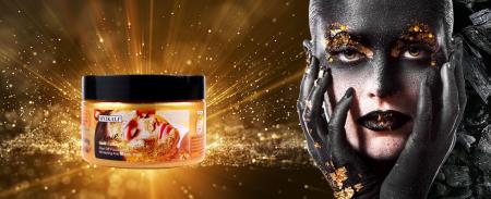 Masca de fata exfolianta cu Melc, Aur 24K si Colagen, Efect anti-rid, Wokali Snail Gold Collagen Whitening, 300 g5