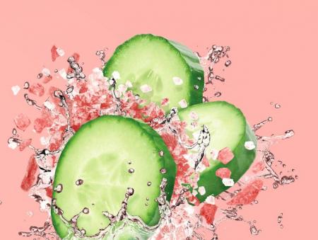 Masca detox cu efect de intinerire FREEMAN Rejuvenating Cucumber + Pink Salt Clay Mask, 15 ml1