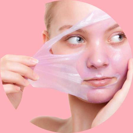 Masca exfolianta antioxidanta FREEMAN Revitalizing Pomegranate Peel-Off Gel Mask, 15 ml2