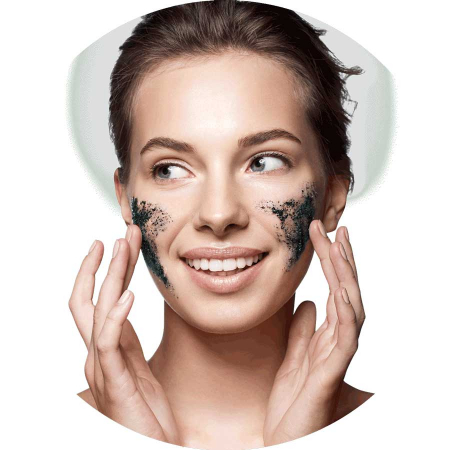 Masca exfolianta cu carbune si zahar negru FREEMAN Polishing Charcoal + Black Sugar Gel Mask, 175 ml1
