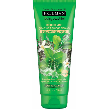 Masca exfolianta antioxidanta cu Vitamina C si Ceai Verde FREEMAN Brightening Green Tea Peel-Off Gel Mask, 175 ml