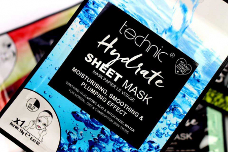 Masca Hidratanta cu Acid Hialuronic TECHNIC Hydrate Sheet Mask, 18 g1