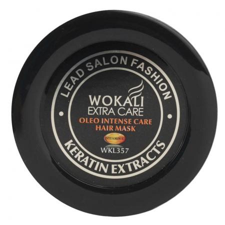 Masca Profesionala pentru Par cu KERATINA, Colagen si Vitamina E, Wokali Extra Care SALON, 500 g1