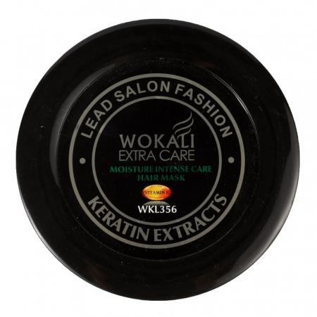 Masca profesionala pentru par degradat cu KERATINA, Colagen si Vitamina E, Wokali Extra Care, 500 g1