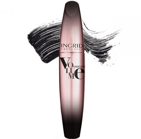 Mascara INGRID Volume Mascara, Negru, 5 ml