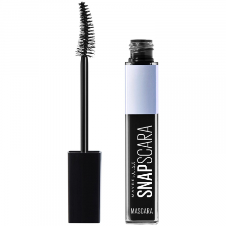 Mascara Maybelline New York Snapscara Pitch Black, 9.5 ml