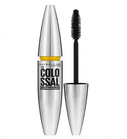 Mascara Maybelline New York the Colossal Platinum Black, Negru, 10.7 ml0