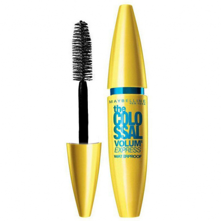 Mascara Maybelline New York the Colossal Volum' Express, Waterproof, Negru, 10 ml