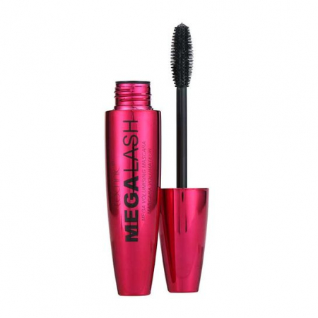 Mascara Technic Mega Lash Mega Volumising Mascara Pink Edition, Black, Negru, 13 ml