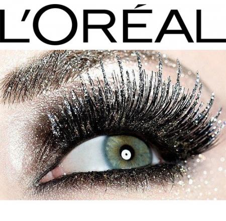 Mascara Transparent cu Sclipici L'Oreal Paris Top Coat Volume Million Lashes Glitter, 8.9 ml1