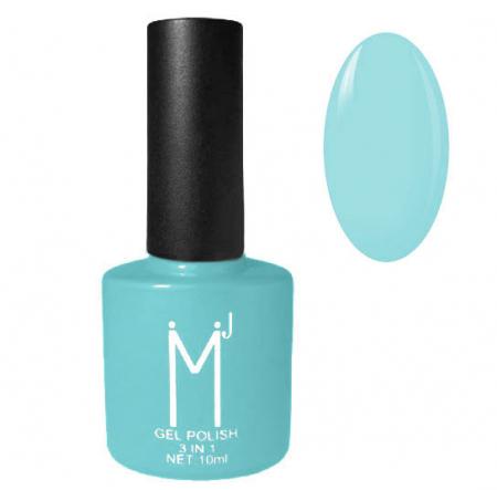 Oja semipermanenta 3 in 1, MJ Gel Polish, Nuanta 049 Turquoise Dream, 10 ml