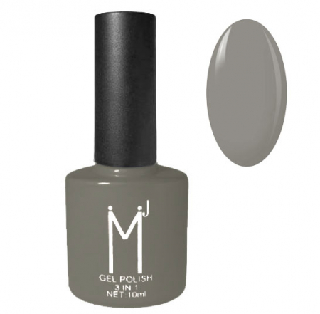 Oja semipermanenta 3 in 1, MJ Gel Polish, Nuanta 069 Shades Of Grey, 10 ml