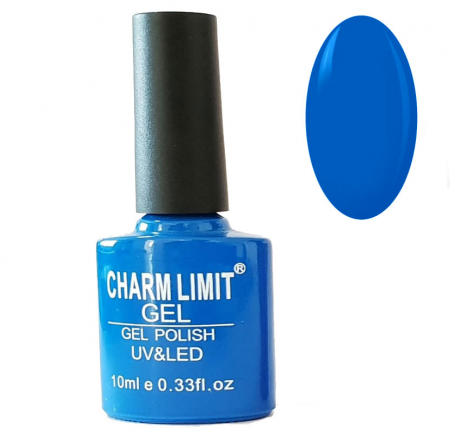 Oja semipermanenta CHARM LIMIT Gel Polish UV & LED, Nuanta 096 Azure, 10 ml