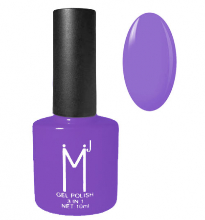 Oja semipermanenta 3 in 1, MJ Gel Polish, Nuanta 045 Iris, 10 ml