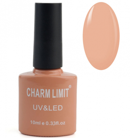 Oja semipermanenta CHARM LIMIT Gel Polish UV & LED, Nuanta 02 Cookies, 10 ml