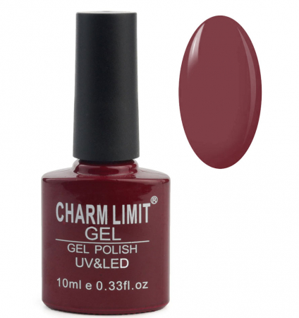 Oja semipermanenta CHARM LIMIT Gel Polish UV & LED, Nuanta 03 Royal Plum, 10 ml