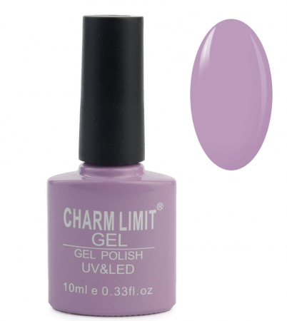 Oja semipermanenta CHARM LIMIT Gel Polish UV & LED, Nuanta 055 Mov Prafuit, 10 ml