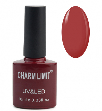 Oja semipermanenta CHARM LIMIT Gel Polish UV & LED, Nuanta 071 Royal Red, 10 ml