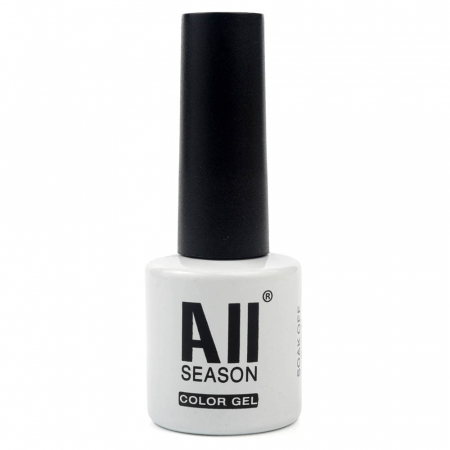 Oja semipermanenta All SEASON Color GEL Polish UV & LED, Nuanta 63 Alb Pur, 8 ml