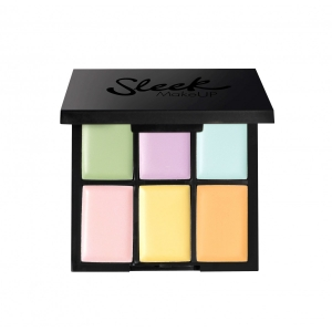 Paleta 6 Corectoare Cremoase SLEEK MakeUP Colour Corrector Palette, 6x0.4 gr0