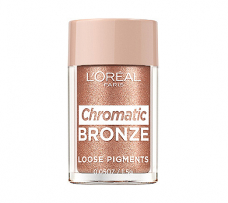 Pigment Machiaj L'Oreal Paris Chromatic Bronze Loose Pigments, 02 Everything is permitted, 1.5 g
