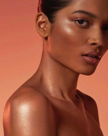 Paleta Iluminatoare Bronzanta TECHNIC Sunset Strip Bronze & Highlight Palette2