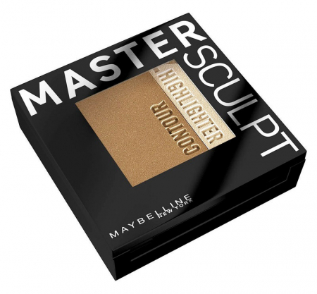 Paleta contouring Maybelline New York Face Studio Master Sculpt - 02 Medium Dark, 9 g0