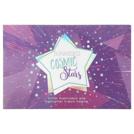 Paleta Glittere si Iluminator SUNKISSED Cosmic Stars Glitter4