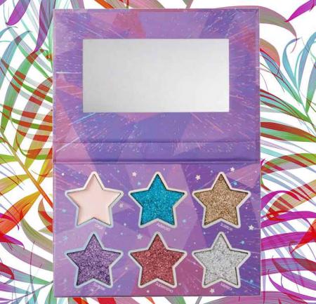 Paleta Glittere si Iluminator SUNKISSED Cosmic Stars Glitter2