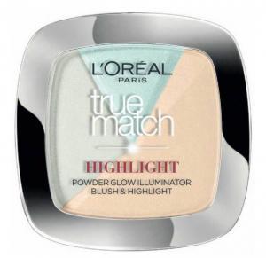 Paleta Cu 3 Iluminatoare L'oreal True Match HIGHLIGHT - 302 R/C Icy Glow, 9 gr