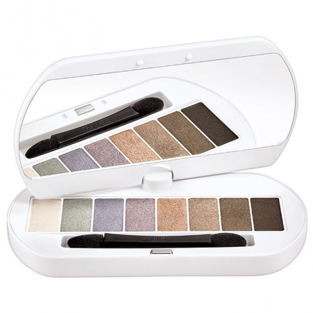 Paleta de Farduri Bourjois Paris Les Nudes Eyeshadow Palette, 01 Les Nudes2