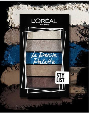 Paleta de Farduri L'Oreal Paris La Petite Palette, 04 Stylist3