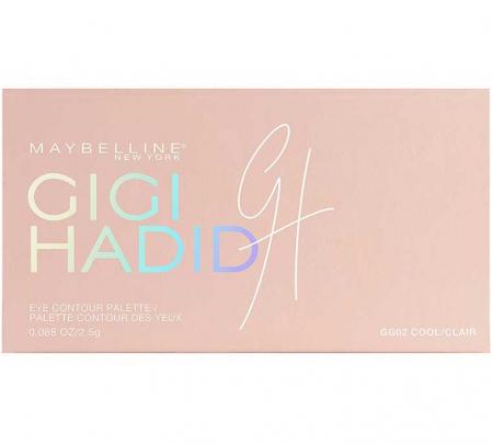 Paleta de farduri MAYBELLINE New York, GIGI HADID Palette, Limited Edition, 02 Cool5