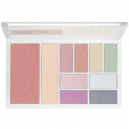 Paleta multifunctionala pentru pleoape si pometi Maybelline New York City Kits, Urban Light, 12 g3