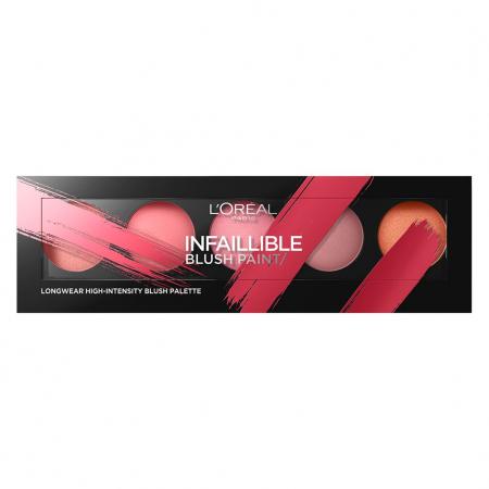 Paleta farduri de obraz L'Oreal Paris Infaillible Blush Paint, 02 Amber, 10 g
